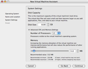 Vmwarefusioncpusettings